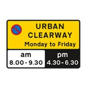 clearways sign