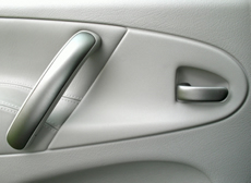 Car door interior