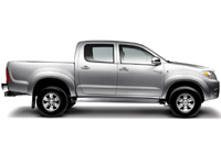 Toyota Hilux Invincible D/Cab P/Up 3.0 D-4D 4WD 171 Lthr Auto