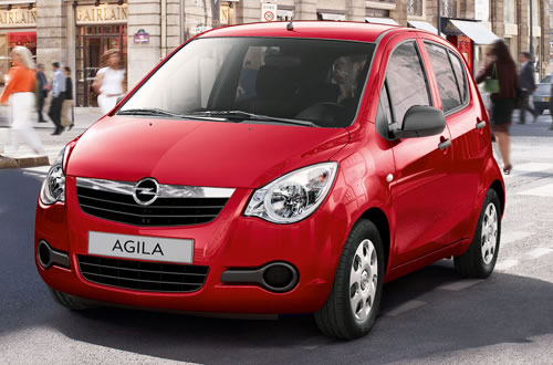 Vauxhall Agila 1.0I 12V Expression Ecoflex: Contract Hire and Car Lease