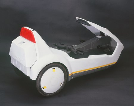 The Sinclair C5 - back