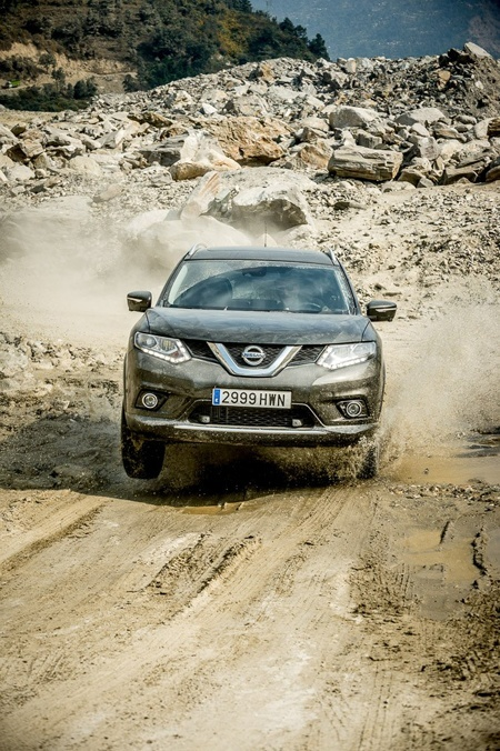 The New Nissan X-Trail in action