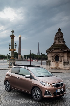 The all-new Peugeot 108 is a versatile city car
