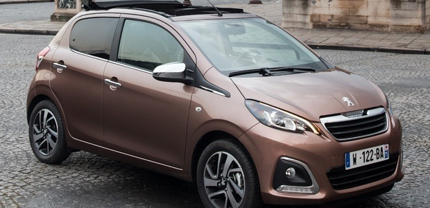 The all-new Peugeot 108 replaces the 107