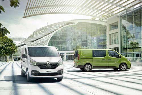 Renault Trafic Crew SL27 dCi 120 Business+ Crew Van | Van Leasing |  Nationwide Vehicle Contracts