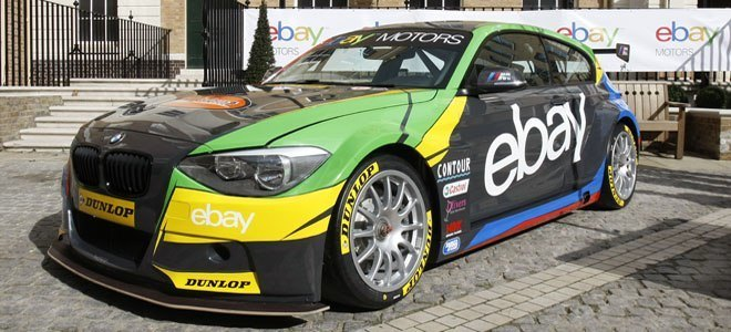 Ebay Motors Unveil 2013 Bmw 125i Btcc Challenger
