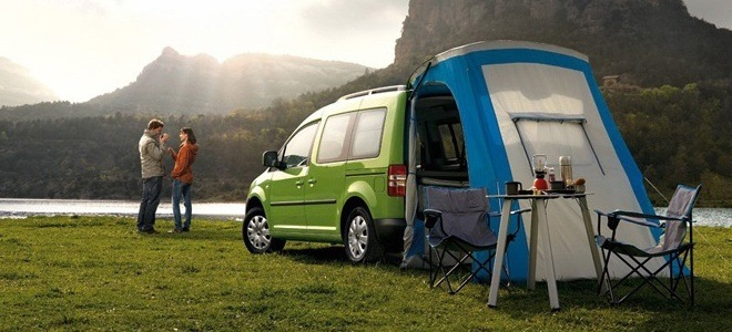Monthly Rental Car >> No More Loitering Within Tent with Caddy Maxi Camper from VW | Nationwide Vehicle Contracts