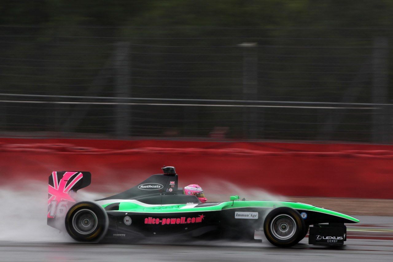 Alice Powell 2012 GP3 Silverstone
