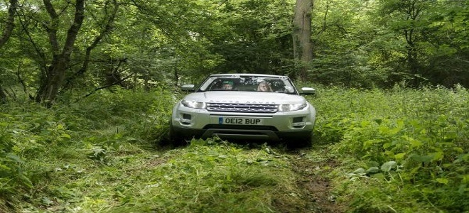 Land Rover Start-Off Road