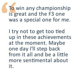 First Daniel Ricciardo quote for NVC interview
