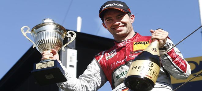 Rocky takes his first DTM title by the North Sea (Credit: Audi Motorsport)