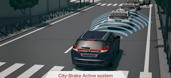 Part of Honda's Driver Assistance Safety Pack