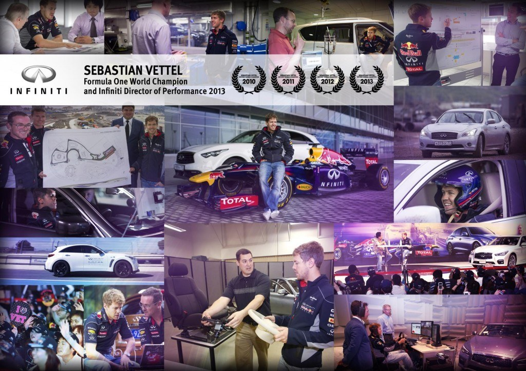 Fourth time's a charm as Vettel's success continues (Credit: Infiniti UK)