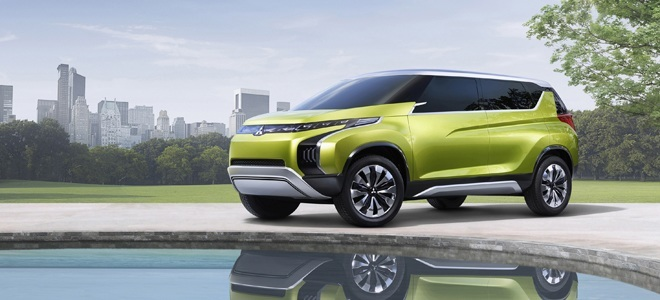 Mitsubishi show Concept AR off in Brussels