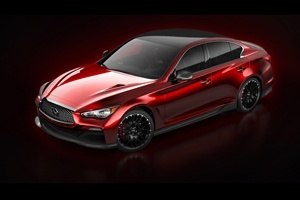 Infiniti Q50 Eau Rouge Concept released in Detroit