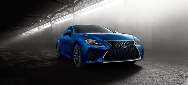 Lexus RC F launched in Detroit