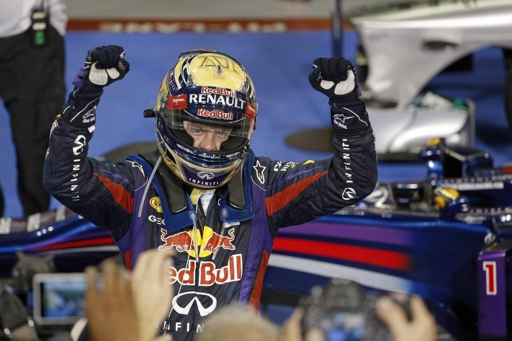 Can Vettel and Red Bull keep the streak alive come the new era? (Credit: Renault UK)