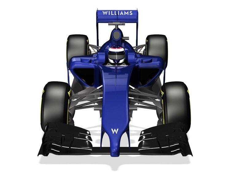 The new 2014 Williams -Mercedes FW36 (Credit: Williams F1 Team)