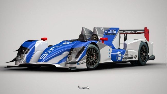 The car that KCMG will use this year, the ORECA-Nissan LMP2 (Credit: KC Motorgroup)