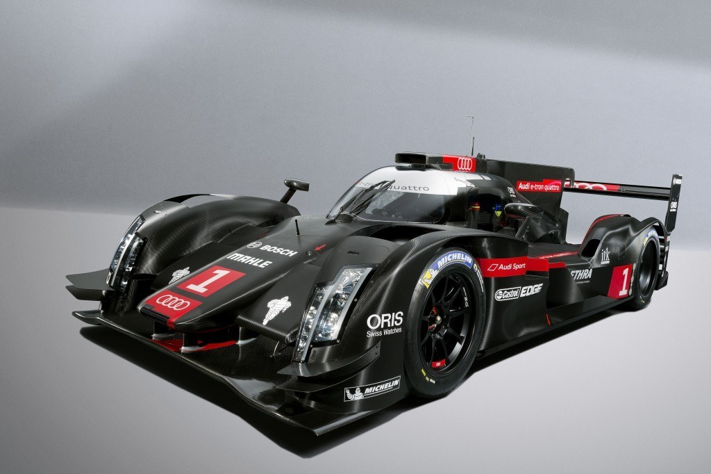 Audi's new chariot for 2014: The R18 e-tron quattro (Credit: Audi Motorsport)
