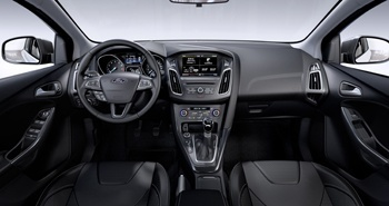 The new Ford Focus has had an overhaul of technology, including the addition of touch screen control with SYNC 2