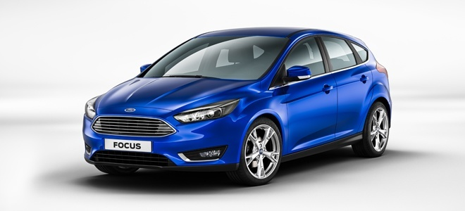 The new Ford Focus launches at the Geneva Motor Show 2014