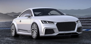 Keeping in with the racing car ideals, the chassis of the Audi TT Quattro Sport is nothing short of cutting-edge