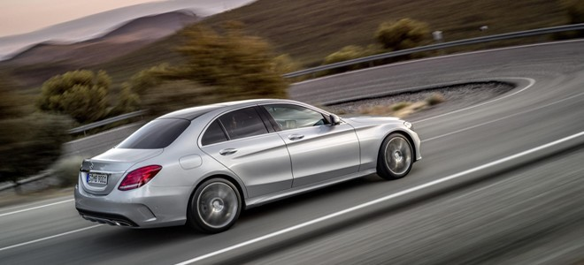 The 2015 Mercedes-Benz C Class Saloon (Image Credit: Mercedes-Benz UK)
