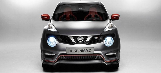 The Nissan Juke Nismo RS is launched at the Geneva Motor Show this week