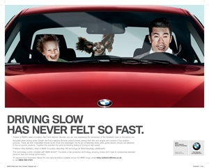 The BMW ad that was an April Fools joke