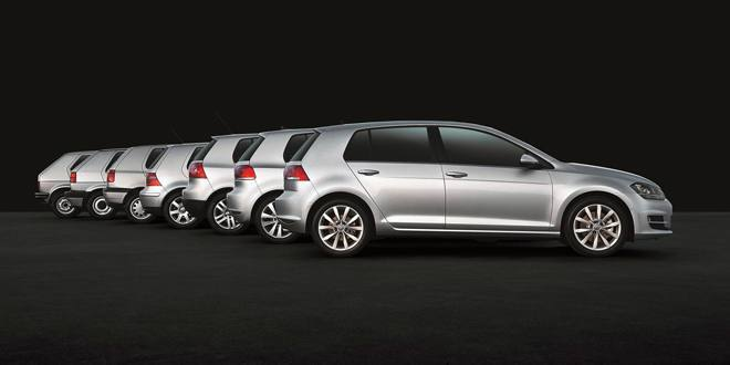 Volkswagen is celebrating the 40th birthday of the most successful European car of all time: the Volkswagen Golf,