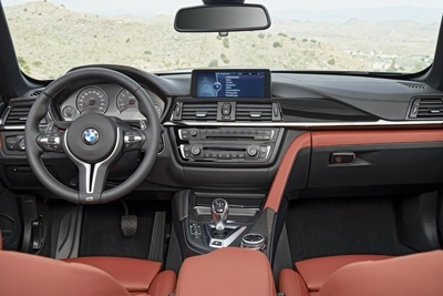 The M4 Convertible is the high-performance flagship of the new BMW 4 Series Convertible range
