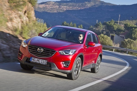 Safety on the road with the 2015 Mazda CX-5