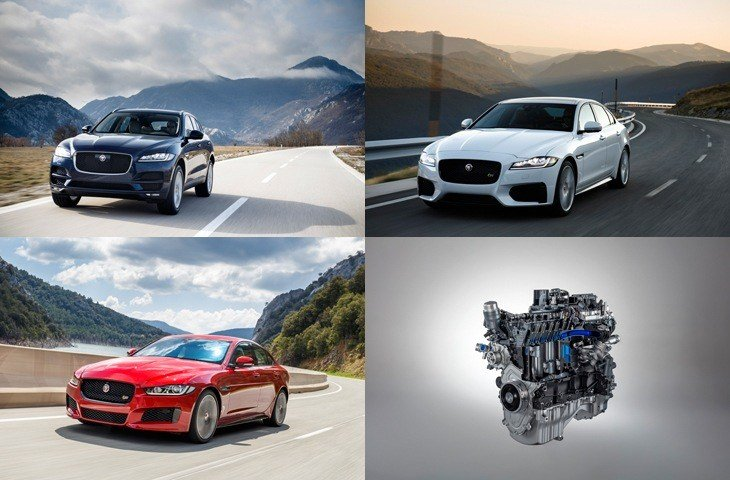 ADVANCED AND EFFICIENT NEW 300PS PETROL ENGINE FOR XE XF AND F-PACE MODELS