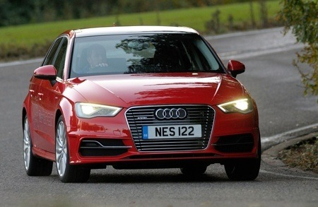 AUDI A3 Sportback on the road