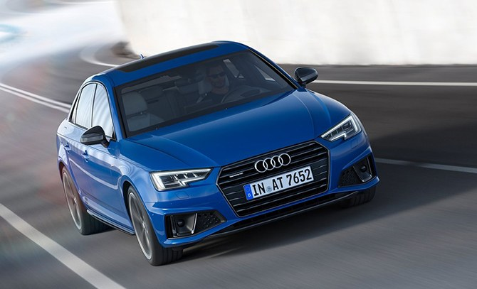 2019 Audi A4 Front Side