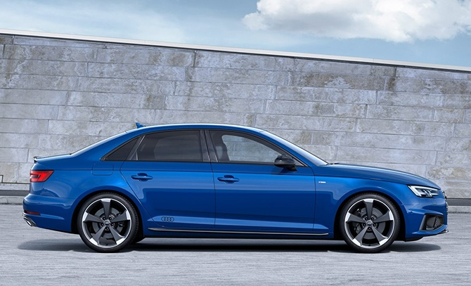 Audi A4 Saloon Sideview