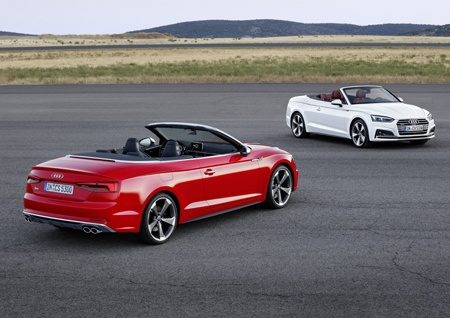 Audi A5 Cabriolet and S5 Cabriolet