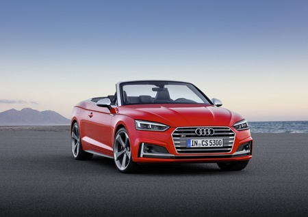 Audi A5 Cabriolet front view