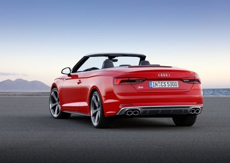 Audi A5 Cabriolet rear view