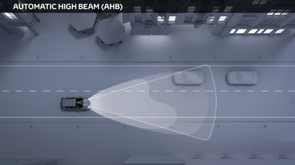 Automatic High Beam safety feature