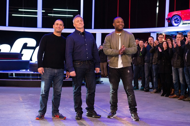 BBC Top Gear Episode 2 Presenters