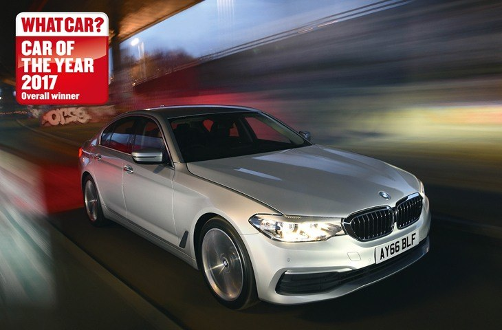 BMW 5 Series wins What Car Car of the Yer 2017