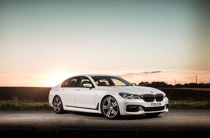 BMW 7 Series UK Version 2016