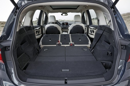 The new BMW 2 Series Gran Tourer boot space