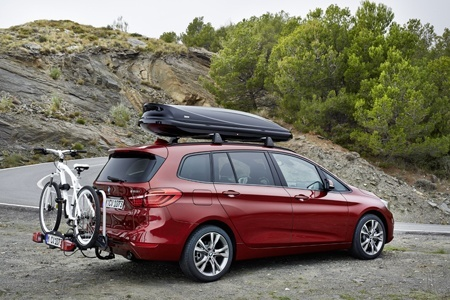The new BMW 2 Series Gran Tourer loaded up