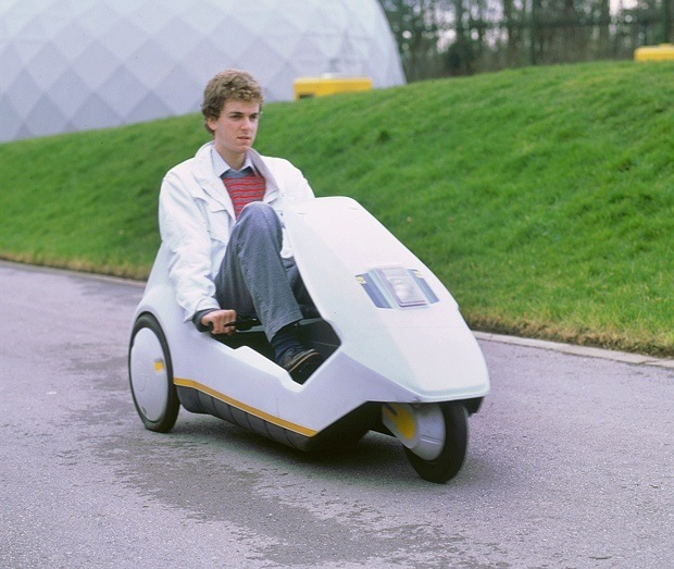 30 years old - The Sinclair C5