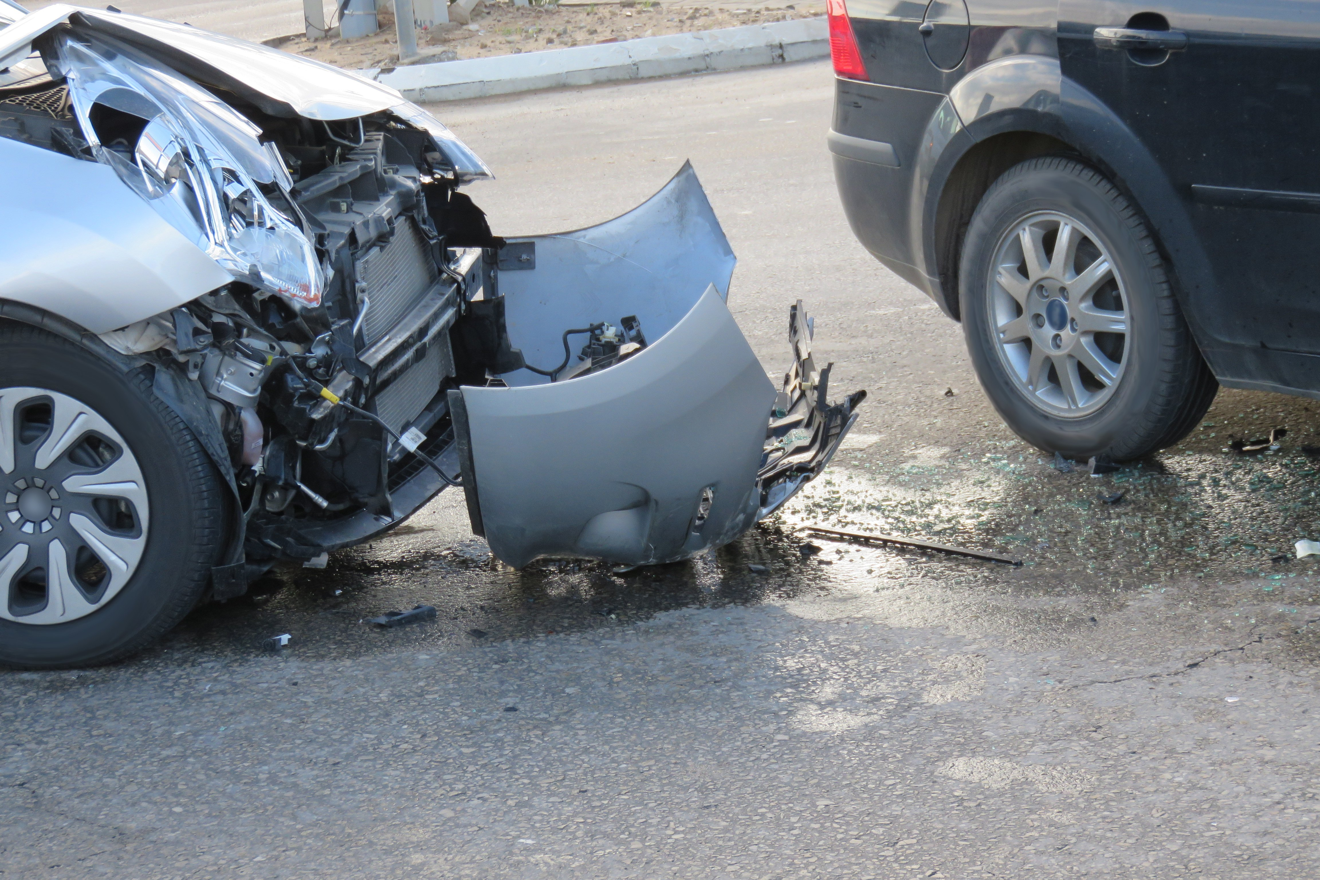 What happens if my leased vehicle is involved in an accident?