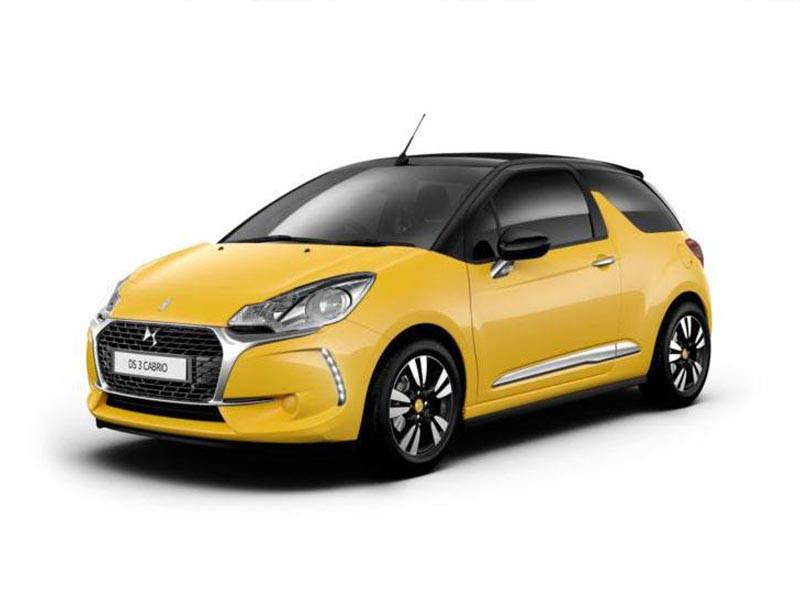 ds ds3 cabrio car leasing nationwide vehicle contracts. Black Bedroom Furniture Sets. Home Design Ideas