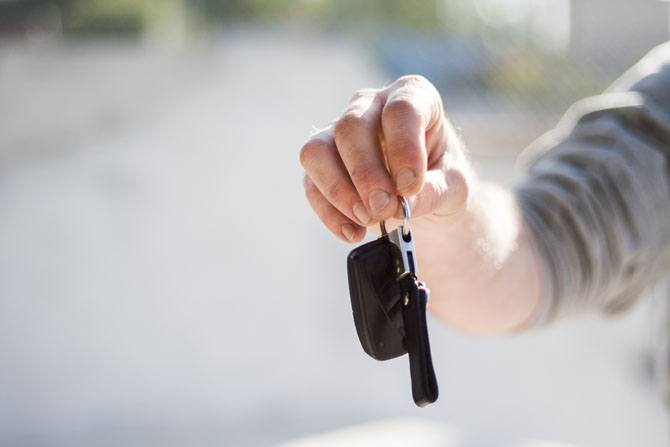 Collecting your vehicle from the dealership